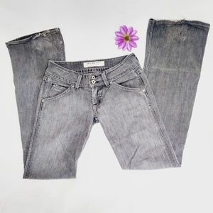 ✨HUDSON✨ Dark wash bootcut mid rise denim jeans